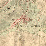 map of Tunbridge Wells