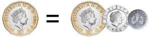 1 pound becomes 1 pound 25